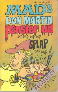 Mad pocketbog 13: Mad's Don Martin pensler ud