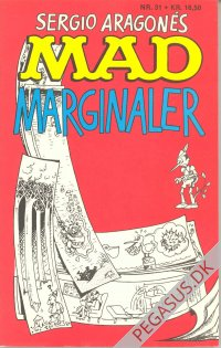 Mad pocketbog 31: Sergio Aragonés Mad marginaler
