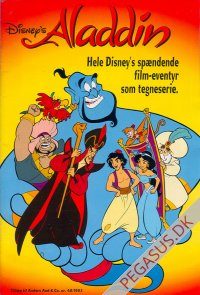 Anders And & Co. 1993 48x: Aladdin