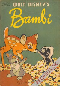 Anders And & Co. B hæfter 5 B: Bambi