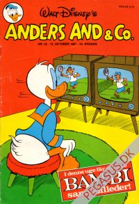 Anders And & Co. 1981 42