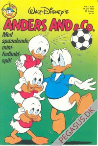 Anders And & Co. 1984 25