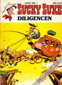 Lucky Luke mini 1: Diligencen