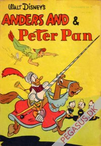 Solohæfte 7: Anders And og Peter Pan