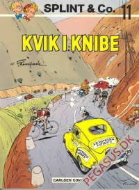 Splint & Co. (1974) 11: Kvik i knibe